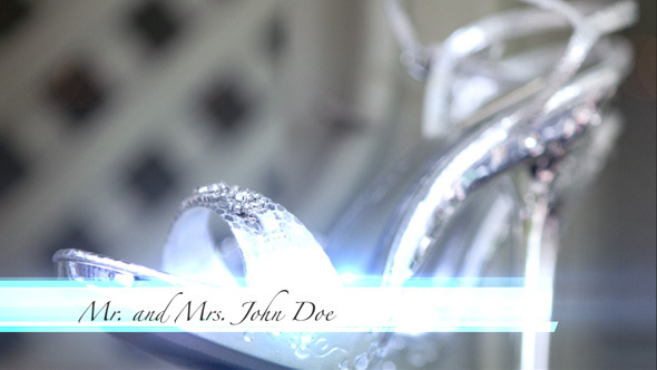VideoHive Elegant Wedding Lower Third 2870009