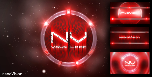 After Effects Project - VideoHive CRYSIS nano type LOGO reveal 101889