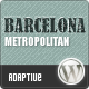 Barcelona: Customizable Universal Wordpress Theme - ThemeForest Item for Sale