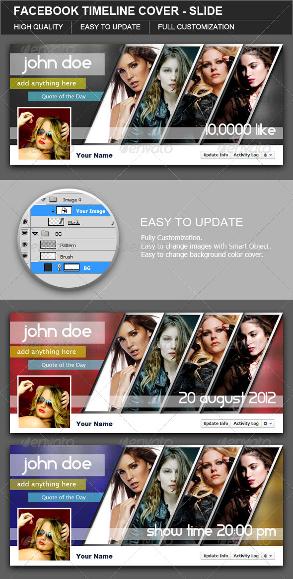 GraphicRiver Facebook Timeline Cover Slide 2851893