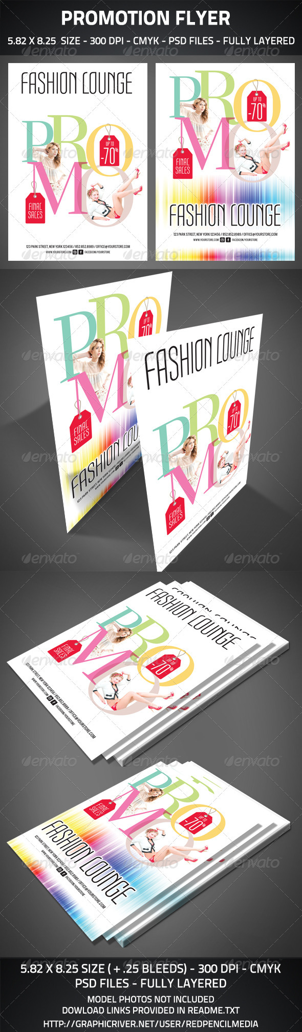 GraphicRiver Promotion Flyer 2878450