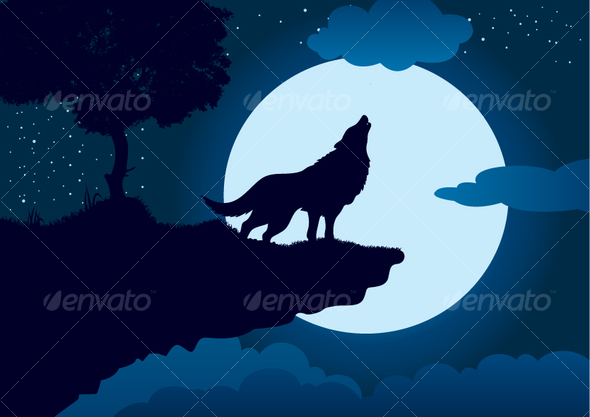 GraphicRiver Vector Wolf 103333