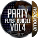 Party Flyer Bundle Vol4 - 4 in 1 - GraphicRiver Item for Sale