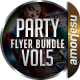 Party Flyer Bundle Vol6 - 4 in 1 - GraphicRiver Item for Sale