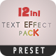 12 Text Fx Pack - VideoHive Item for Sale