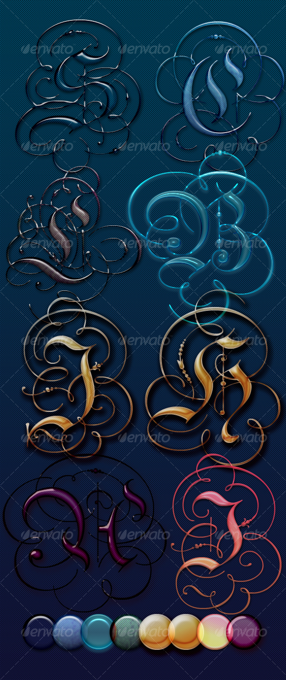 GraphicRiver Beautiful Glass Text Effects and Style 100048