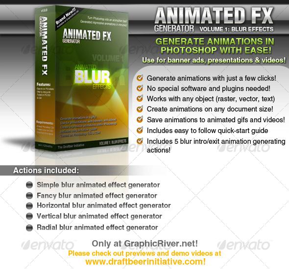 GraphicRiver Animated FX Generator vol 1 Animated Blur FX 102957