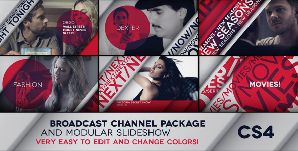 Videohive My Tv Broadcast Package After Effects Project