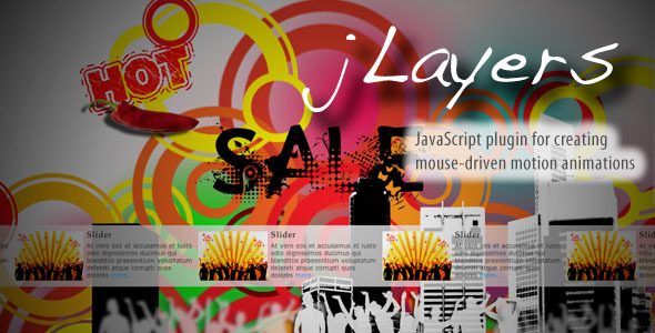CodeCanyon jLayers - Mouse Driven Animation Plugin -Rip