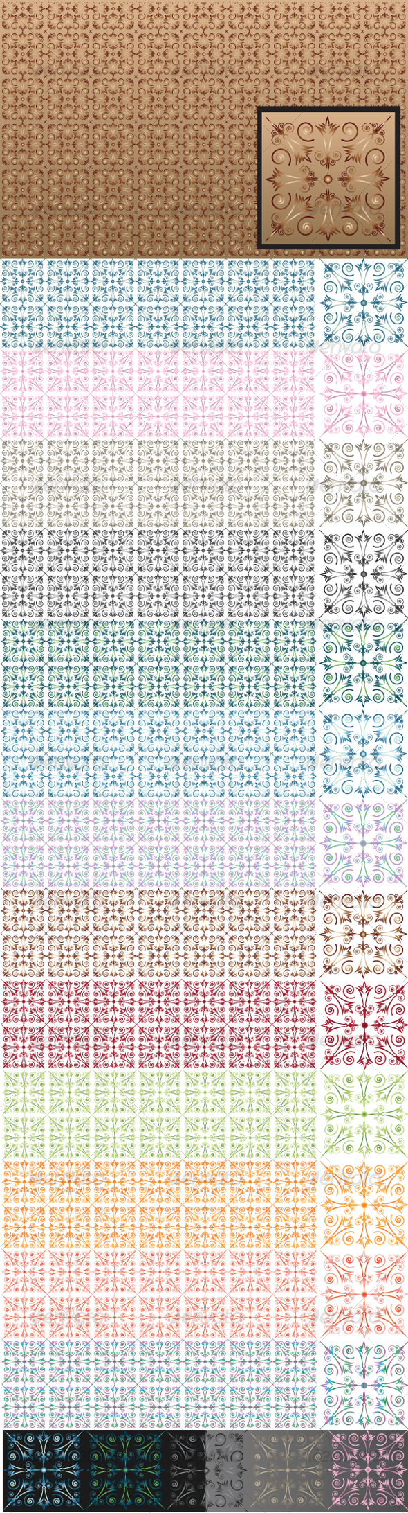 GraphicRiver Vector Pattern 103722