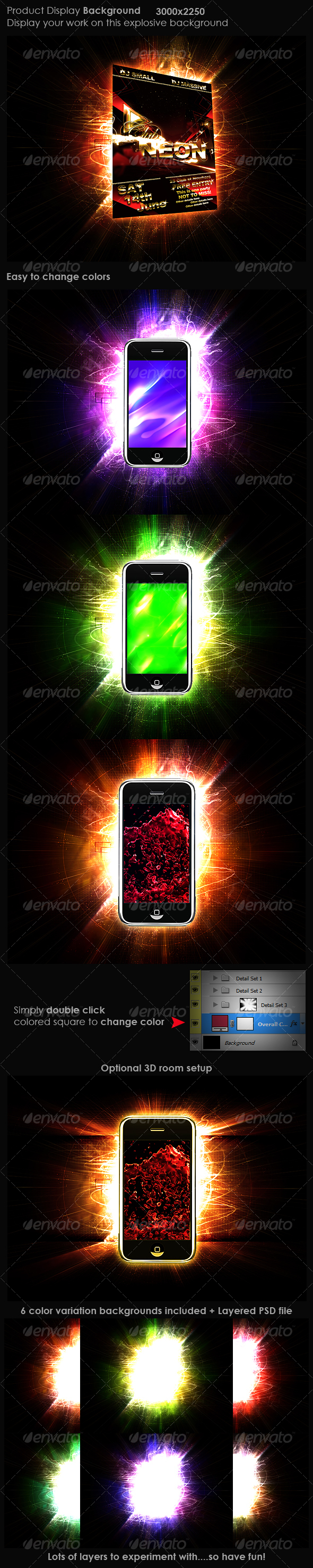 GraphicRiver Product Display Background 1 103734