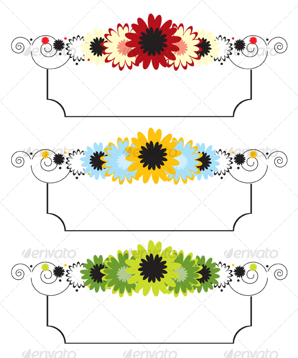 GraphicRiver Vector Floral Banner 103802