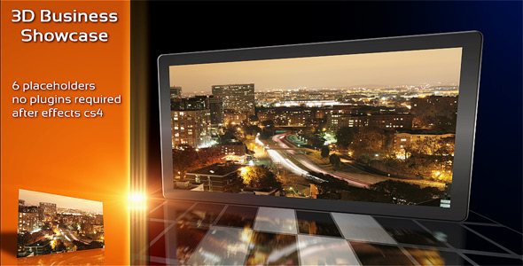 After Effects Project - VideoHive 3D Business Showcase 103808