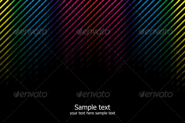 GraphicRiver Abstract rainbow colours background 103818
