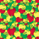 Apples Seamless Pattern - GraphicRiver Item for Sale