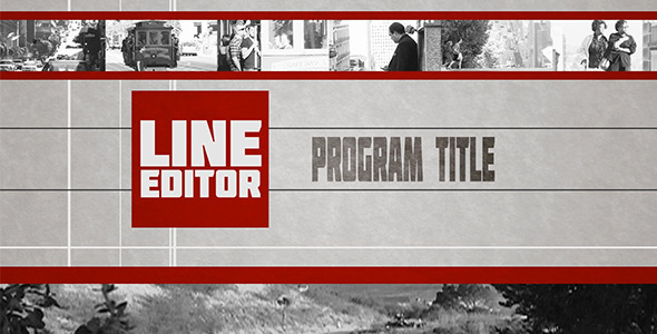 VideoHive Line Editor Broadcast Pack 2894280