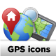 GPS and Navigation Icons - GraphicRiver Item for Sale