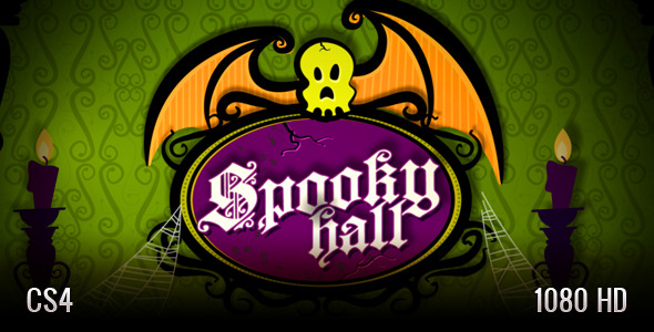 After Effects Project - VideoHive Spooky Hall Slideshow 2895042