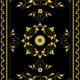 Ornament Oriental Rugs with Golden Decor - GraphicRiver Item for Sale