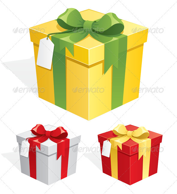 GraphicRiver Gift Box 122806