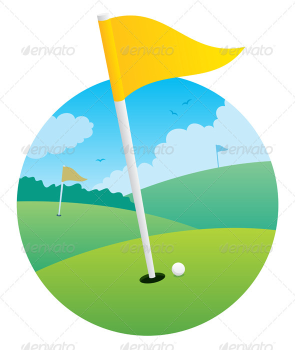 GraphicRiver Golf Flag 115808