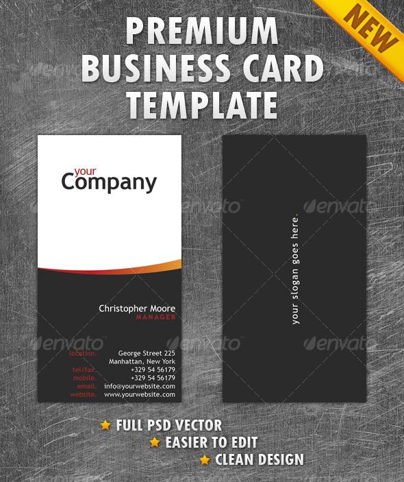 GraphicRiver Clean Business Card 104109