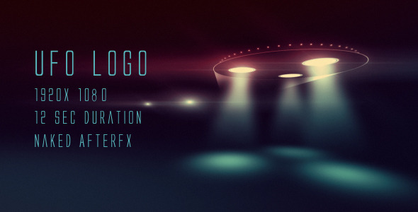 After Effects Project - VideoHive UFO logo 2903562