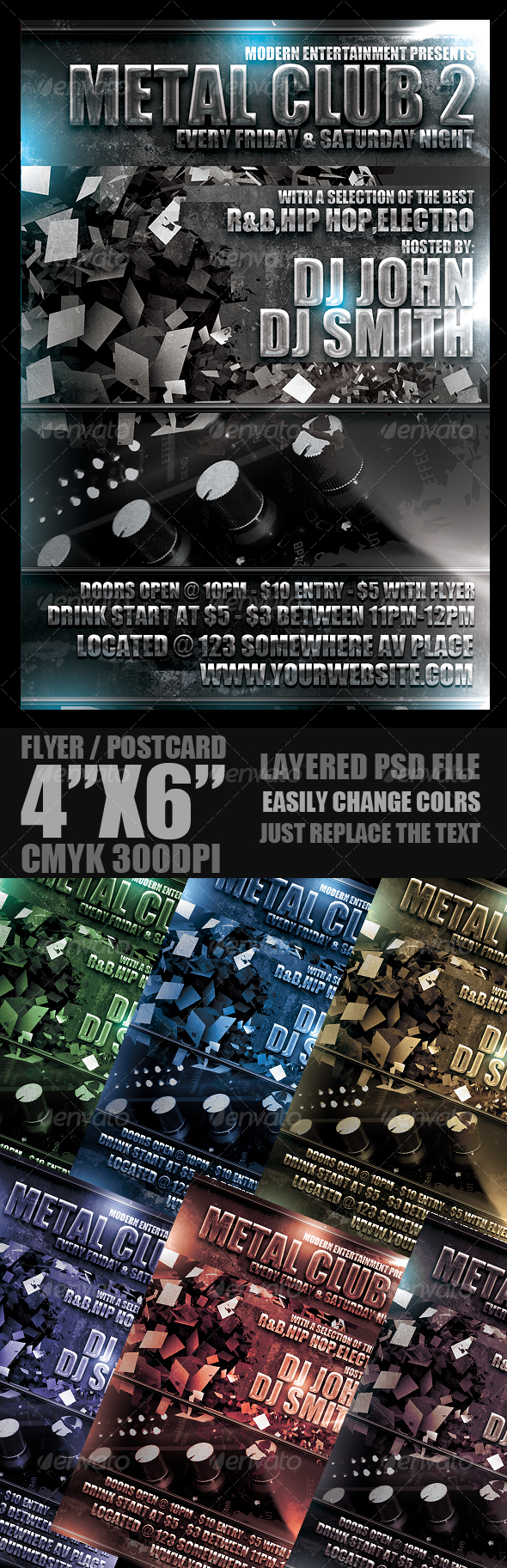 GraphicRiver Event Flyer Template 104124