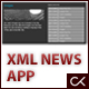 XML, HTML and CSS News Application - ActiveDen Item for Sale