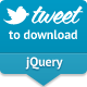 jQuery Tweet to Download - CodeCanyon Item for Sale