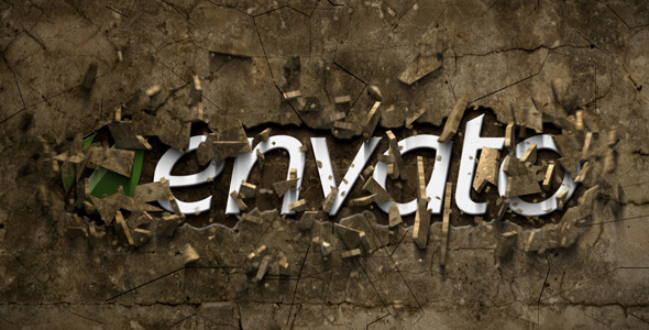 After Effects Project - VideoHive Smashing Logo Stone 2906203