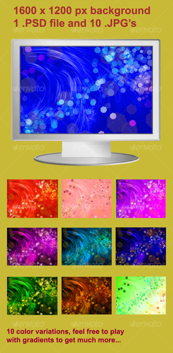GraphicRiver Abstract hair background 104242