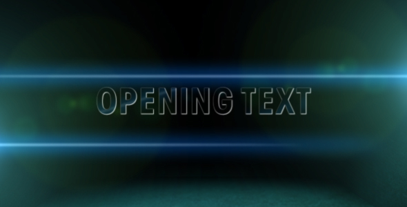 After Effects Project - VideoHive Cinema Style titles 104330