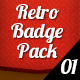 Retro Badge Pack 01 - GraphicRiver Item for Sale