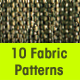 10 Seamless Jacquard Fabrics Patterns - GraphicRiver Item for Sale