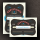 Typographic Certificate - GraphicRiver Item for Sale