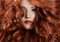 Beautiful Redhair Woman Close-Up Portrait - PhotoDune Item for Sale