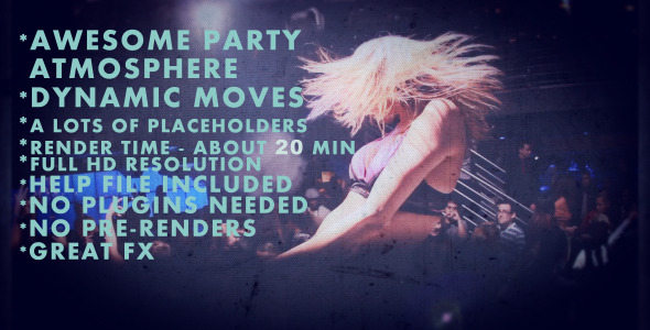 VideoHive Project Party Animals 2918377