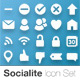 Socialite Icon Set (40 Vector Icons) - GraphicRiver Item for Sale