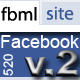 Facebook Static FBML App 520px Site Template - ActiveDen Item for Sale