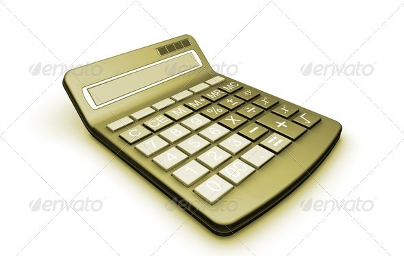 Graphic River Calculator Graphics -  3D Renders  Technology 305779