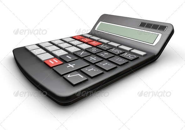 Graphic River Calculator Graphics -  3D Renders  Technology 305782