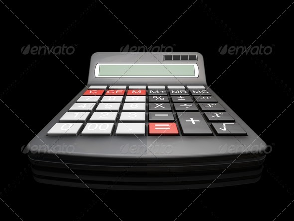 Graphic River Calculator Graphics -  3D Renders  Technology 305783