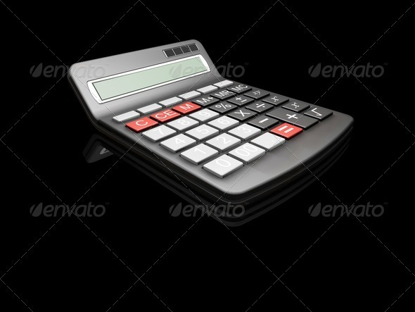 Graphic River Calculator Graphics -  3D Renders  Technology 305784