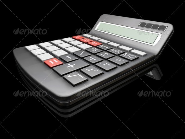 Graphic River Calculator Graphics -  3D Renders  Technology 305786