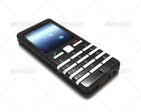 Graphic River Cellphone Graphics -  3D Renders  Technology 305791
