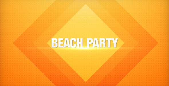 After Effects Project - VideoHive Beach Party Promo 2920115