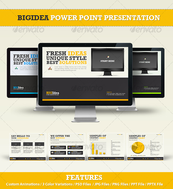 Beautiful PowerPoint Themes, Presentation Designs & PPT Templates