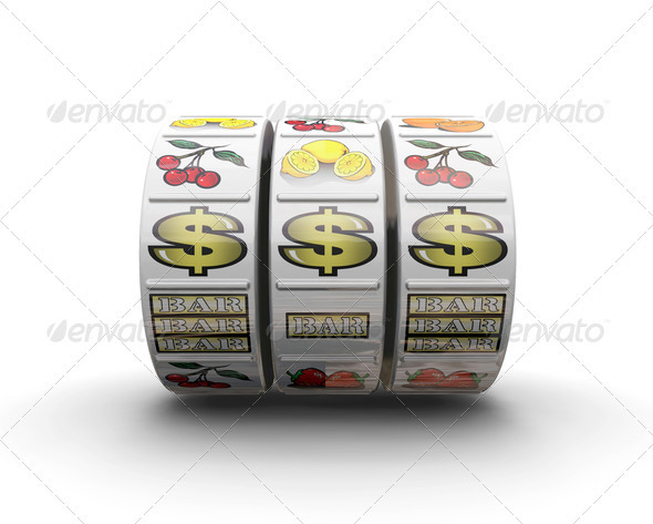 Graphic River Jackpot Graphics -  3D Renders  Objects 306012