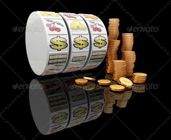 Graphic River Jackpot Graphics -  3D Renders  Abstract 306017